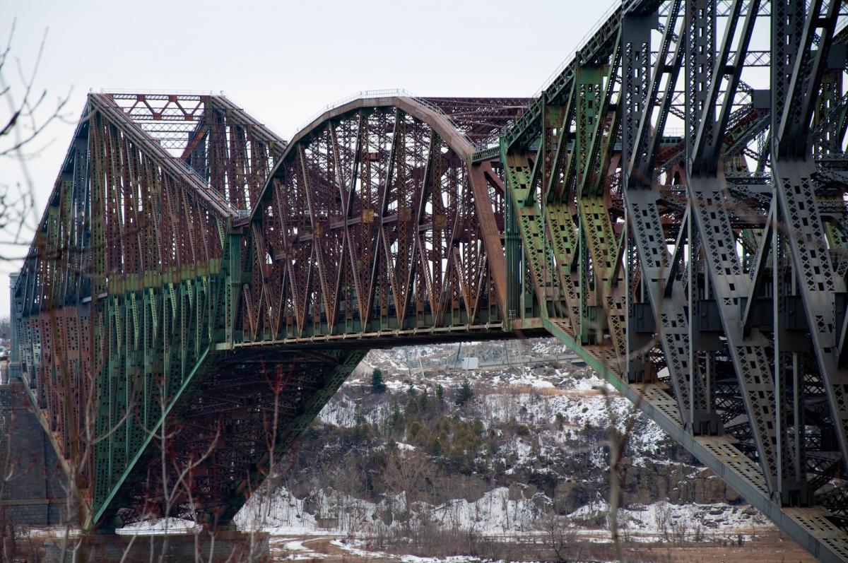 The Quebec Bridge The National Trust For Canada
